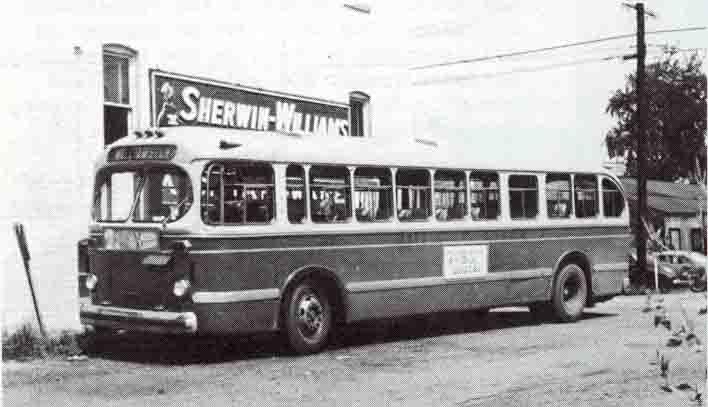 Old City Buses Parkersburg Wv Mackey S Antique Clock Repair