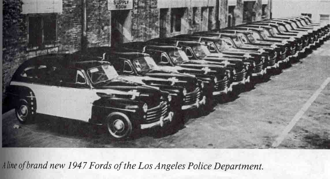old 3 police cars & paddy wagons - Mackey's Antique Clock Repair